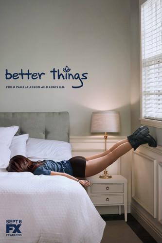 《更美好的事》(Better Things):《路易不容易》两主创再合作,帕梅拉-阿德龙半自传故事搬上荧屏。
