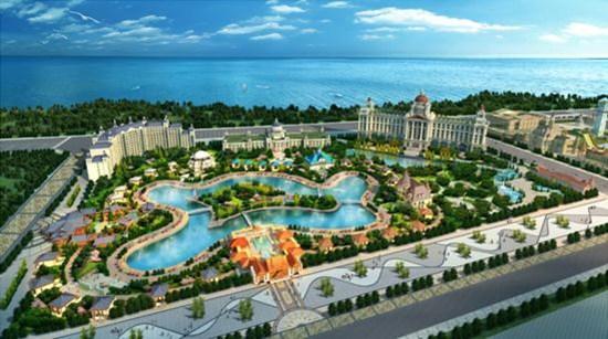 中新网8月31日电 继海南海花岛项目之后,恒大在京北又推出一重磅级产品——北京恒大文化旅游城。至此,一南一北,恒大以大体量的旅游地产项目,不断在国内乃至世界旅游版图正发力。