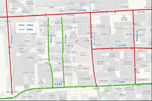 北京交警联合高德地图发布预测报告