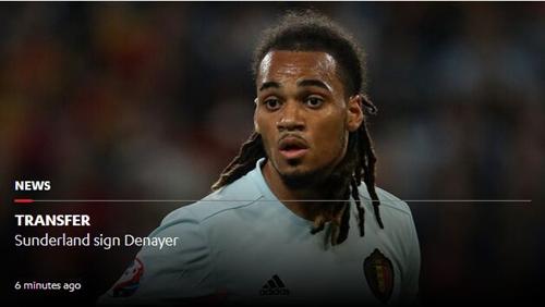 第五人!曼城官宣比利时国脚离队 租借加盟黑猫