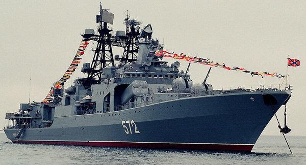 俄军5舰船赴南海参加中俄军演 前往广东湛江