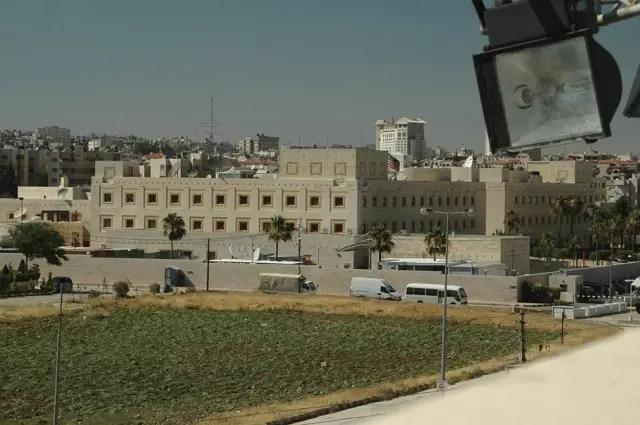 美国驻约旦都城安曼大使馆。(材料图像)