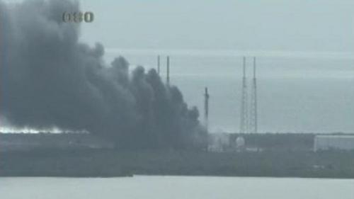 美发射中心爆炸:爆炸时正进行测试 对公众无威胁