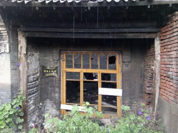 哈尔滨抗日名将唐聚五旧居失火 烧了六个小时