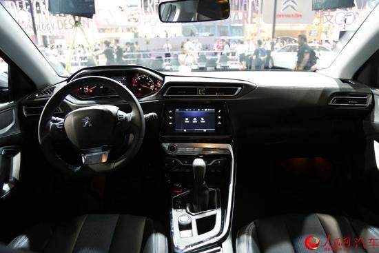 人民网直击2016成都车展 东风标致全新308启动预售