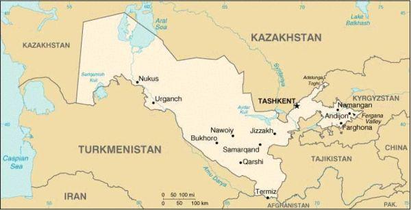 乌兹别克斯坦的安全形势对中亚局势的影响举足轻重