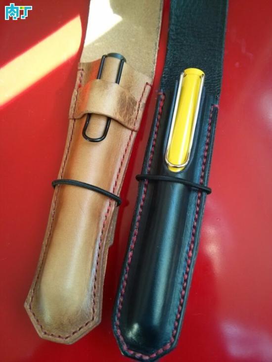 教你制作漂亮时尚的手工DIY笔套 皮革材质的笔套
