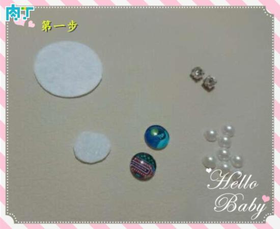 漂亮的手工DIY儿童太阳花发卡 简单制作小饰品