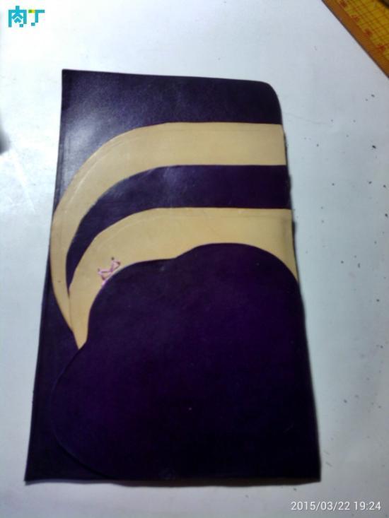 神秘紫色的护照包 漂亮的手工DIY护照包制作教程