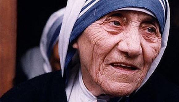 生前的特蕾莎修女。图片来源:网络