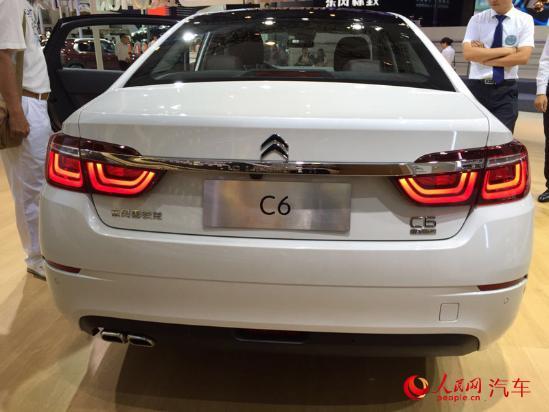人民网北京9月4日电(窦明)在刚刚开幕的2016成都国际车展上,雪铁龙新一代法系旗舰C6正式亮相,据悉,C6针对中国消费者需求进行了调研,依据中国特性完成了全路况测试,是一款全面符合中国市场消费需求的轿车。