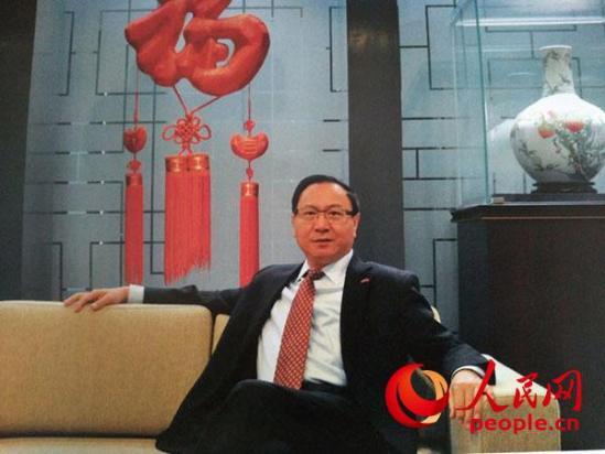 中国驻冰岛大使张卫东 李玫忆 摄