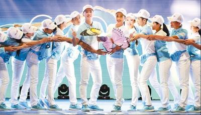 G20杭州峰会志愿者服装。