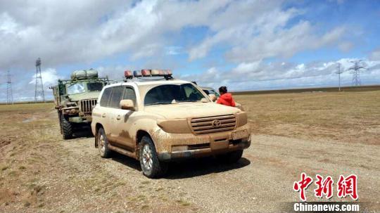 图为巡山队员与救援队平安返回索南达杰保护站。钟欣 摄