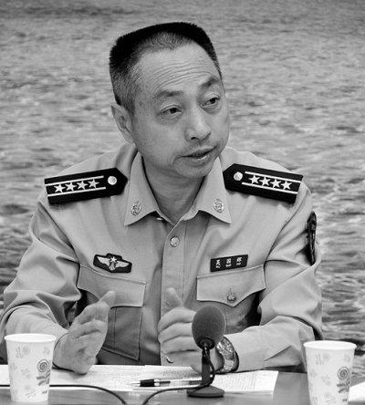 空军特级飞行员吴国辉