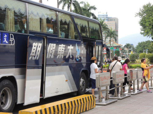 台观光部门表示,陆客自今年5月以来呈负成长,其中以观光团旅客缩减3成。图/联合报资料照