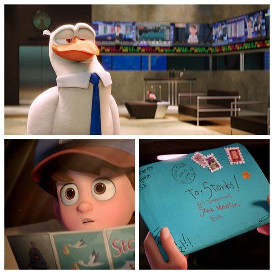 小男孩读到了鹳鸟送子的故事,写了一封许愿信