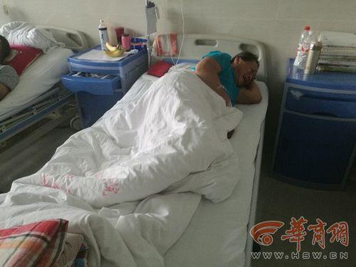 网传被埋的崔某(华商报 图)