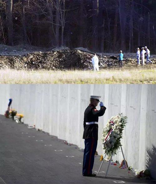 宾夕法尼亚州的美联航93号航班坠毁地已建成纪念园。