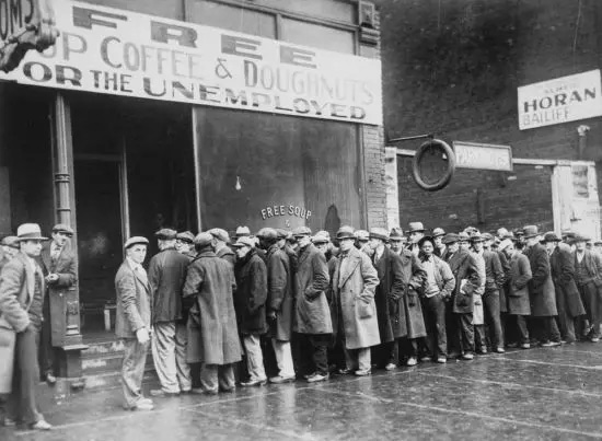 1929年美国历史上最严重的经济危机