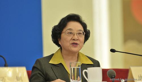 台盟中央主席林文漪