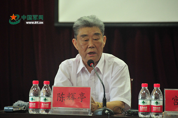 """空军原副参谋长、""""英雄营""""第三任营长陈辉亭。 武千妍图"""