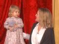 《艾伦秀第14季片花》第四期 艾伦求抱高音小女孩遭拒 艾伦神模仿女孩秀歌艺