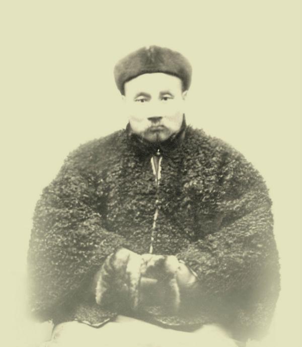 梁漱溟之父梁济。