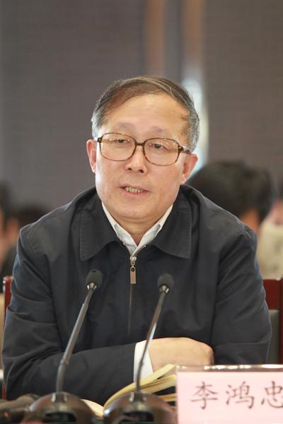 新任天津市委书记李鸿忠(资料图)