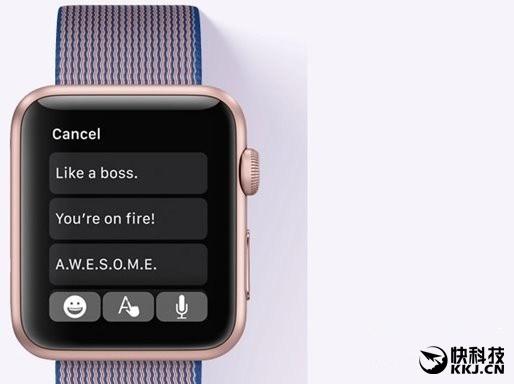 重要性不亚于iOS 10!苹果推送watch OS 3:新特性汇总