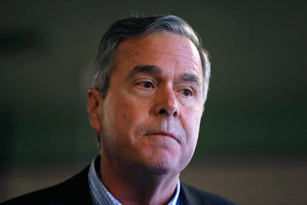小布什的弟弟杰布,原本是当权派看好的候选人,后来却证明是扶不起的阿斗。