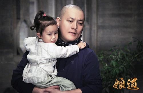 导演郭靖宇与女儿郭信如
