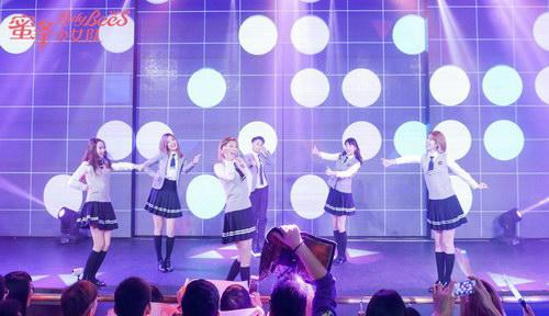 蜜蜂少女队中秋佳节为粉丝甜蜜开唱