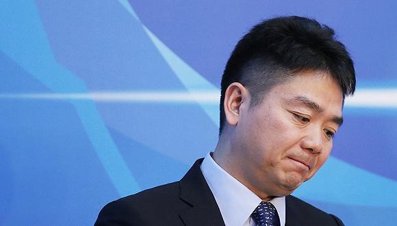 京东董事长刘强东。图片来源:东方IC
