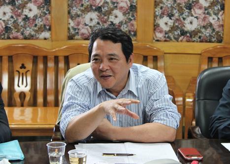 湖南省科协原党组书记、副主席毕华。 郴州市科协 图