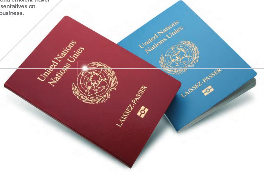 联合国通行证(资料图)