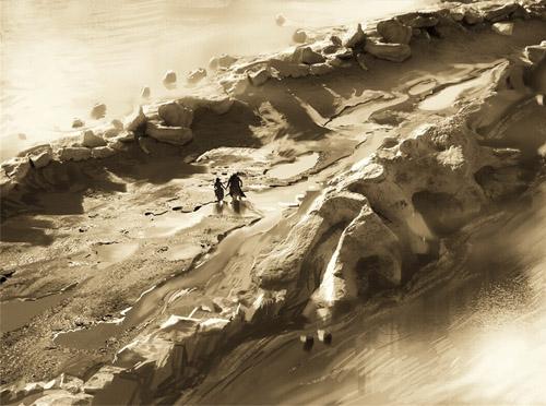 《他是龙2》手绘概念图