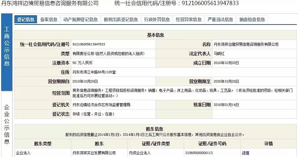 鸿祥边界商业资讯征询