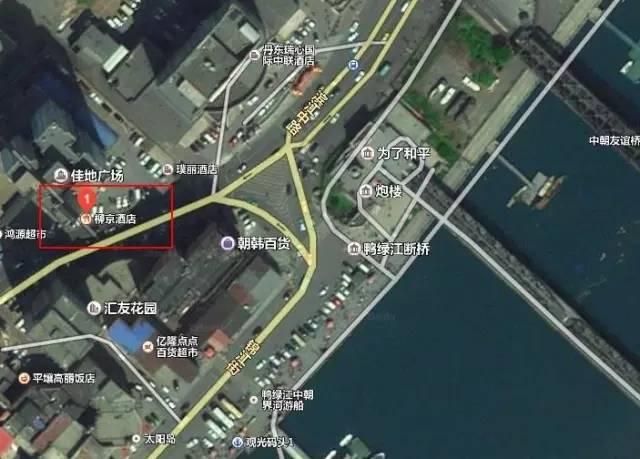 柳京饭馆方位图