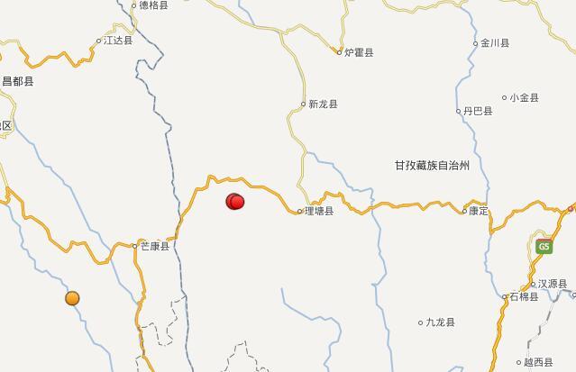 中国地震台网正式测定:9月23日00时47分在四川甘孜州理塘县(北纬30.09度,东经99.64度)发生4.9级地震,震源深度19千米。9月23日1时23分,四川甘孜州理塘县(北纬30.10度,东经99.61度)发生5.1级地震,震源深度16千米。