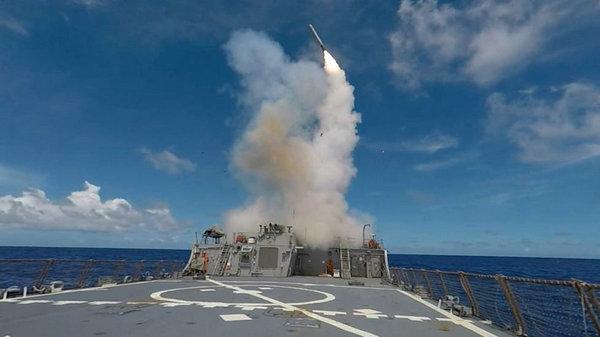 美军菲律宾海大规模军演