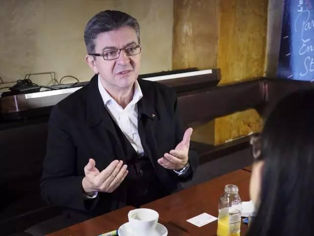 梅朗雄接受《欧洲时报》专访。(欧洲时报记者 苏子钊 摄)