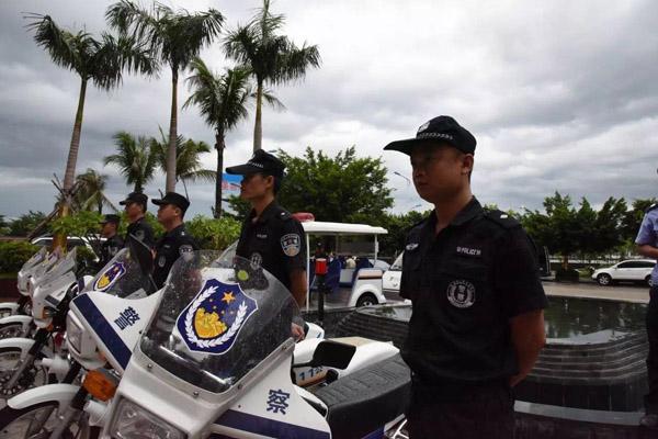 海南旅游警察 资料图