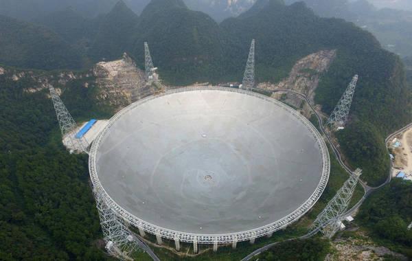 """""""严俊说,立体化作战的望远镜集群,不仅将大幅提升我国在天文科学与"""