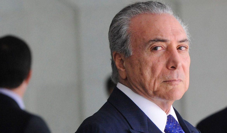 巴西总统米歇尔・特梅尔(Michel Temer)涉嫌贪腐被最高法院调查,转正不到1个月。