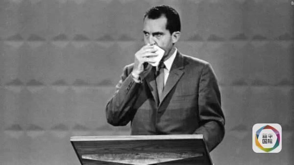 尼克松在电视辩论中
