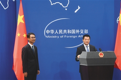 外交部发布会_时事    9月26日,外交部例行记者会上,外交部新闻司副司长兼发言人