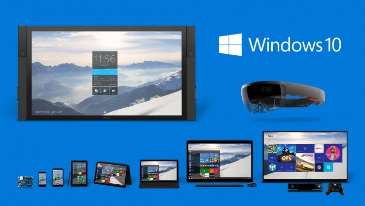 Windows 10装机量破4亿,3个月增加5000万台
