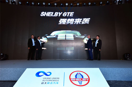 Shelby GTE中国首发强势来袭