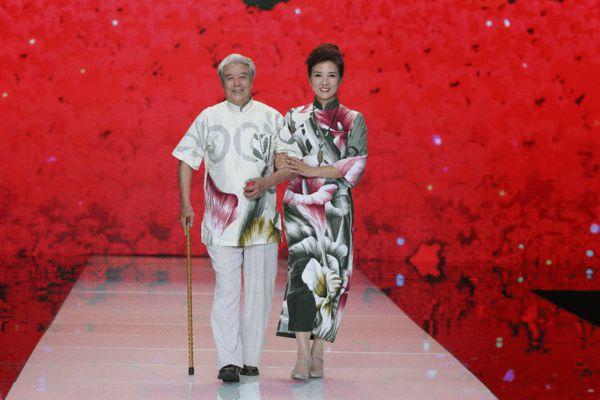 刷新王德顺走秀年龄 中老年模特首秀北京时装周
